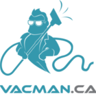 The Vac Man's logo