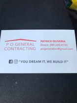 P O General Contracting Inc's logo
