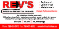 Rev's Electrical Contracting (2011) Ltd.'s logo
