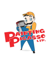 Painting PIcasso's logo