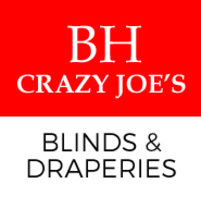 B.H. Blinds & Drapes Of Crazy Joe's Drapery's logo