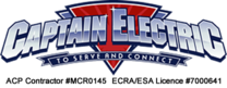Captain Electric's logo