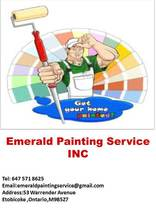 Emerald Painting Service Inc.'s logo