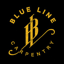 Blueline Carpentry's logo