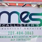 Mc Allister's Electrical Services's logo
