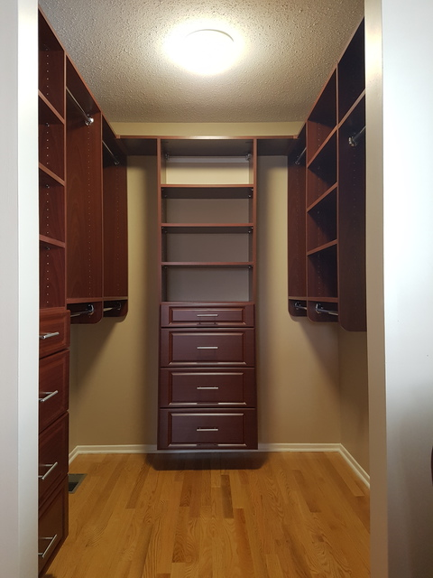 Tailored Living Featuring Premier Garage Closet