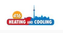 416 Heating And Cooling's logo