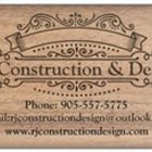 RJ Construction Design's logo