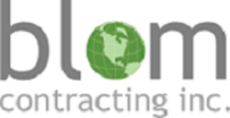 Blom Contracting Inc.'s logo