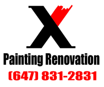 X Painting & Renovation's logo
