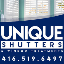 Unique Shutters & Window Treatments's logo