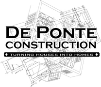De Ponte Construction's logo