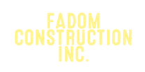Fadom Construction Inc's logo