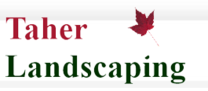 Taher Landscaping's logo