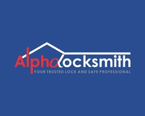 Alpha Locksmith 's logo