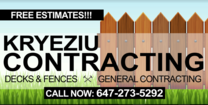 Kryeziu Contracting Inc 's logo