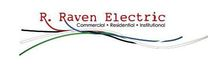 R Raven Electric's logo