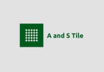 A And S Tile's logo