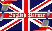English Painter's logo