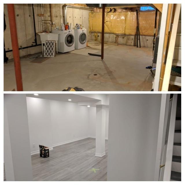 Basement Renovation In Richmond