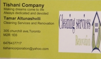 Tishani Company Cleaning Services and Renovation's logo