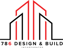 786 Design & Build's logo