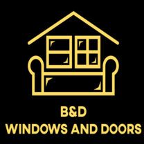 B&D Windows And Doors Installation's logo