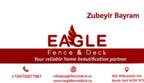 Eagle Construction's logo