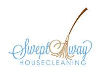 Swept Away Housecleaning's logo