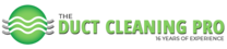 The Duct Cleaning Pro's logo