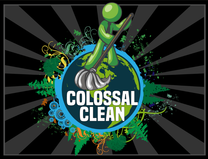 Colossal Clean's logo