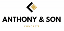Anthony and Son Concrete 's logo