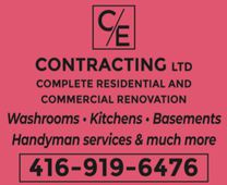 C/E Contracting Ltd's logo