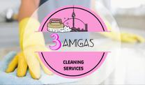 3 Amigas Cleaning Services's logo