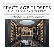 Space Age Closets And Custom Cabinetry's logo
