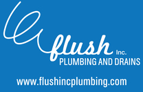 Flush Inc. Plumbing and Drains's logo