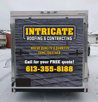 Intricate Roofing & Contracting's logo