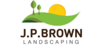 J.P Brown Landscaping's logo