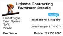 Bret Wade - Ultimate Contracting's logo