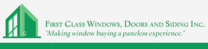 First Class Windows, Doors & Siding's logo
