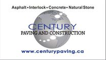Century Paving And Construction's logo