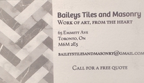 Bailey's Tile and Masonry's logo