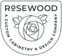 Rosewood Custom Cabinetry's logo