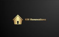 KM RENOVATIONS's logo