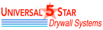 Universal 5 Star Drywall Systems's logo