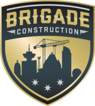 Brigade Construction's logo
