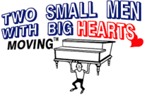 Two Small Men With Big Hearts's logo