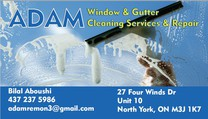 Adam Window & Gutter Cleaning Services & Repair's logo