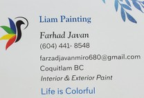 Liam Painting's logo