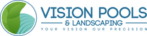 Vision Pools & Landscaping's logo